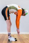 Figure 2:  Limited Hamstring Flexibility. Photo by Erik Moen