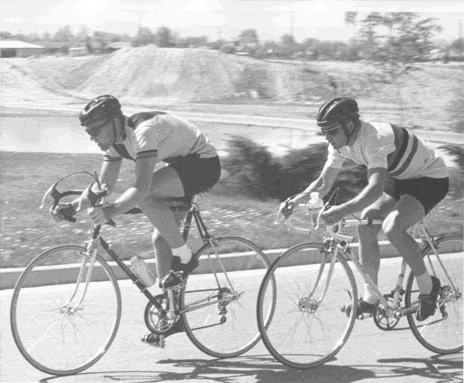 Pete Locke and Jan Hyde. Photo courtesy Jan Hyde