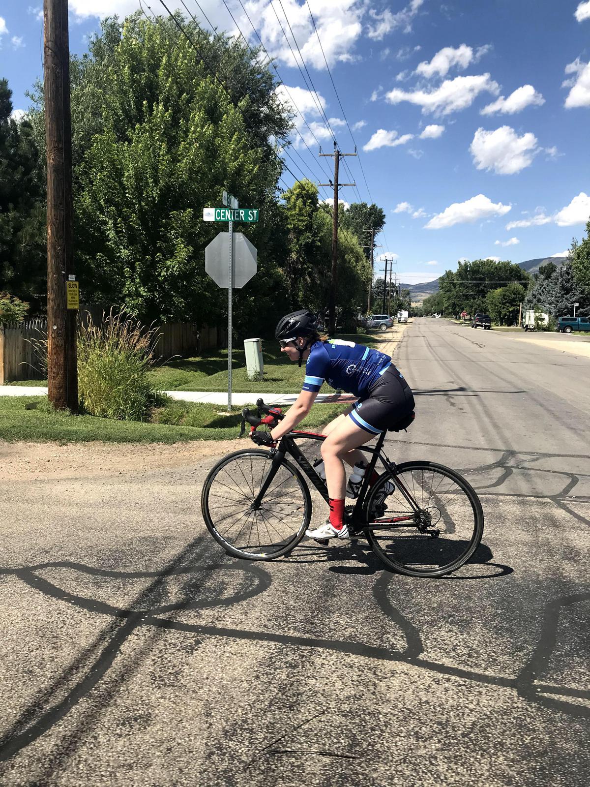 Jillian Gardner has been racing since age 11. Photo by Michael Finch