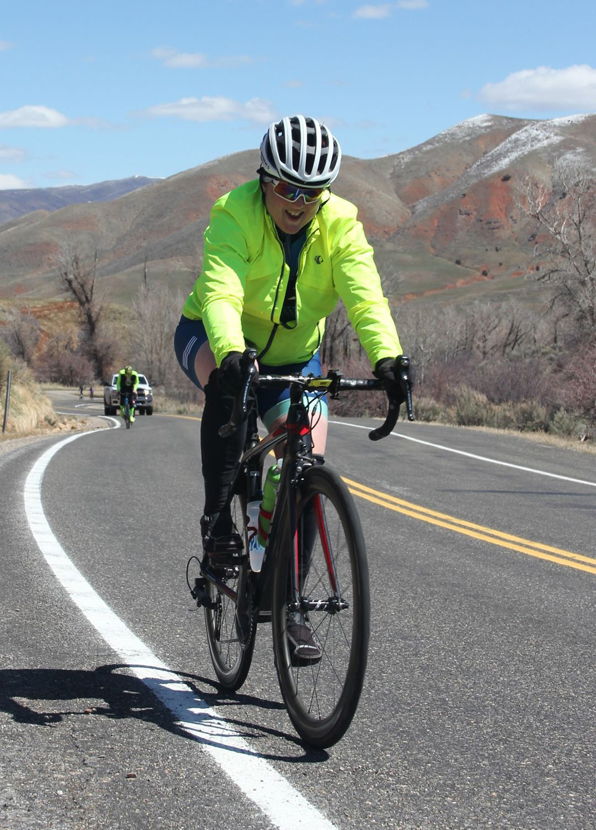 Kelly McPherson at the East Canyon Road Race. Photo by Bri Hoopes