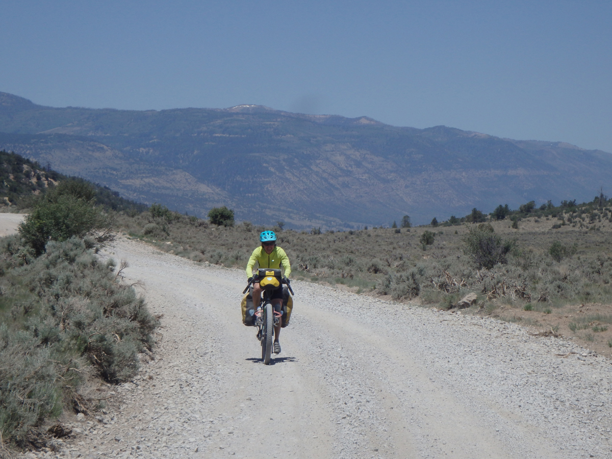Ashley Patterson on Skyline Drive in Central Utah. Photo by Tom Diegel