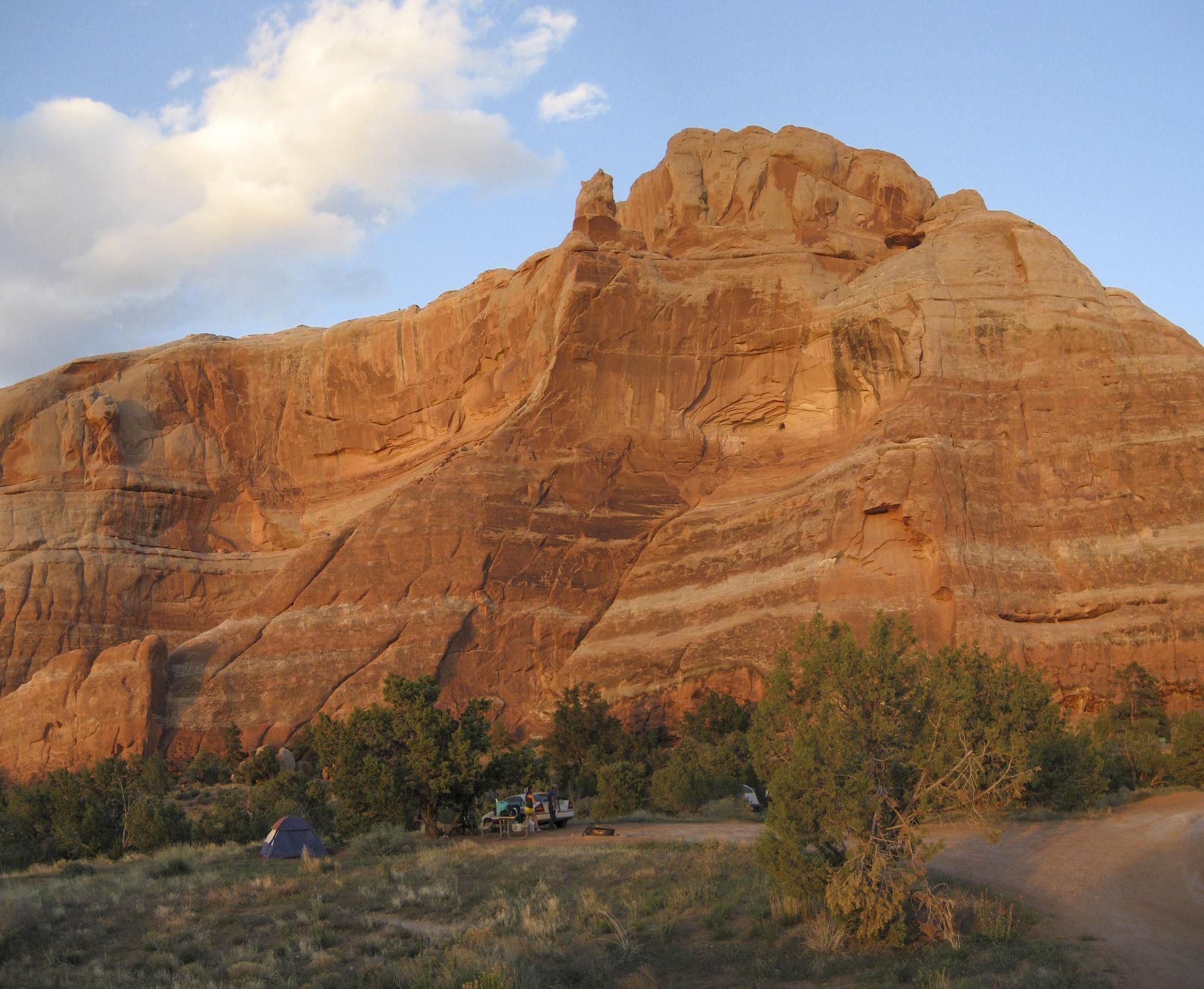 Cowskin Camp Navajo Sandstone Amphitheater