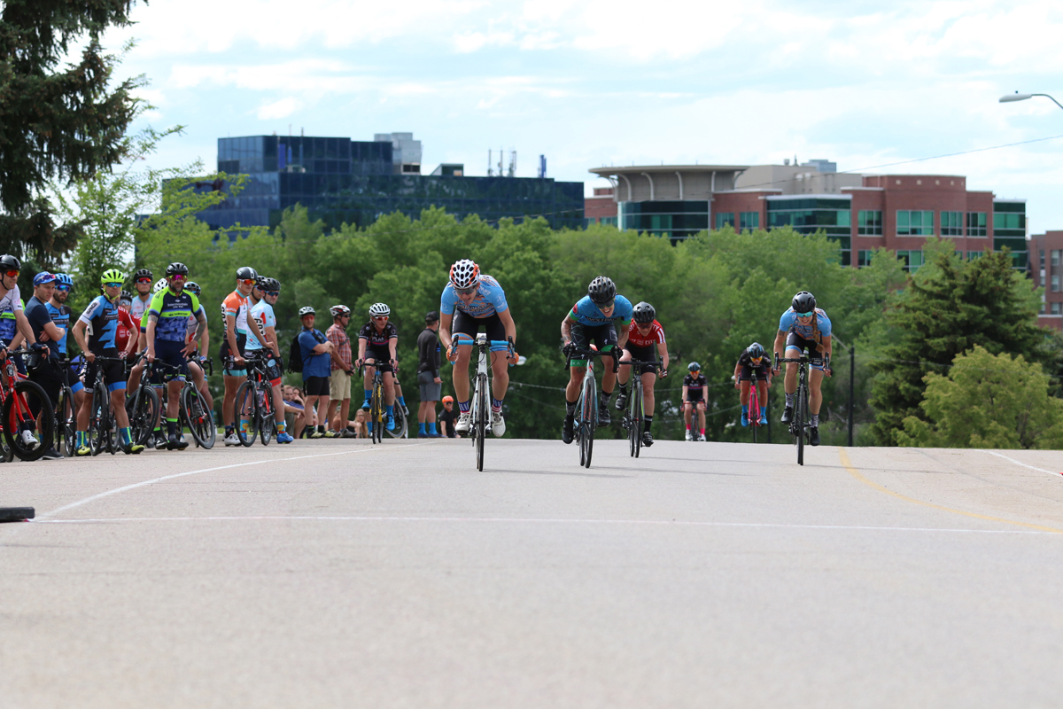 The Sugarhouse Criterium, generally held in May, is a great race that will challenge all riders. Photo by Dave Iltis