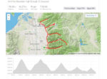 5 Canyons Ride Map