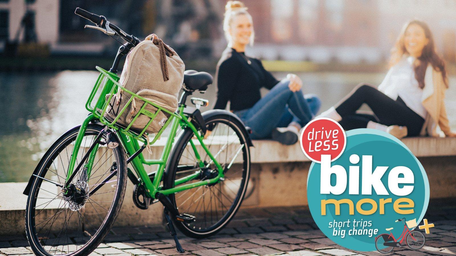 Bike more. Drive less.