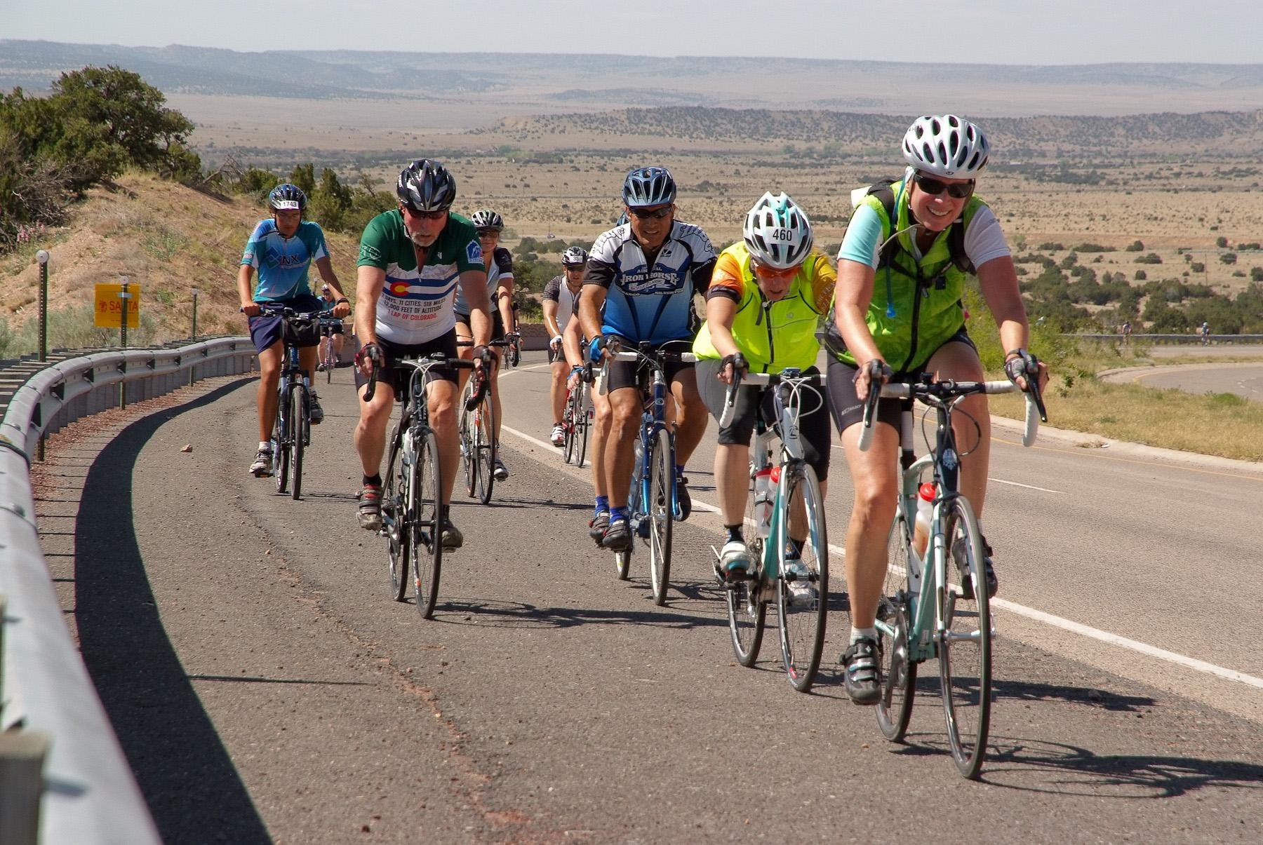 Photo courtesy Santa Fe Century Ride