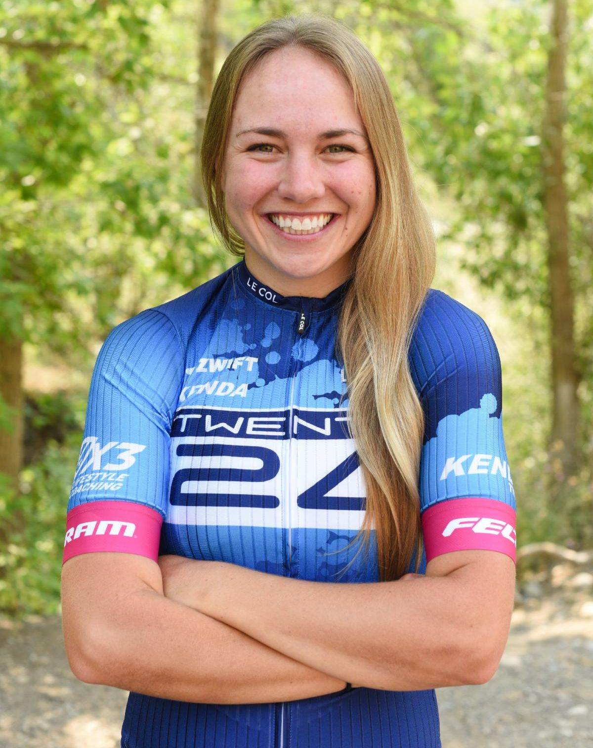 Melisa Rollins joins TWENTY24 Pro Cycling Team for remainder of 2021 and 2022. Photo courtesy TWENTY24 Pro Cycling.